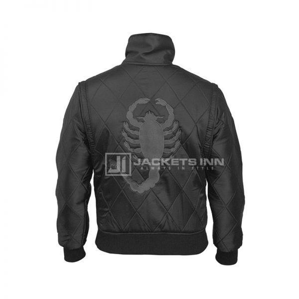 Drive Black Scorpion Jacket Back