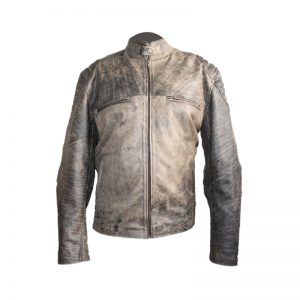 Antique Vintage Distressed Retro Motorcycle Jacket