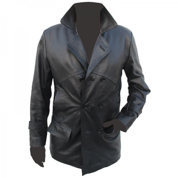 Dr Who Leather Coat 2