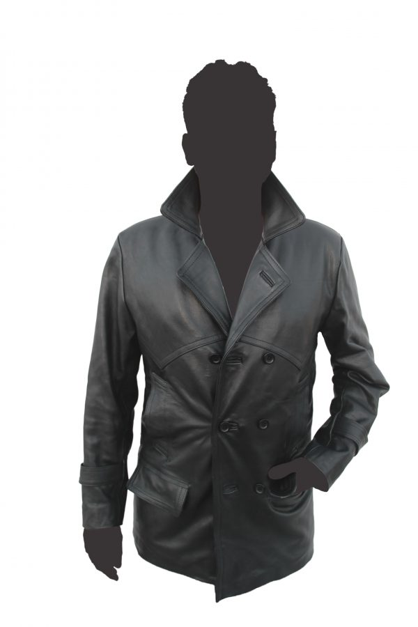 Dr Who Leather Coat
