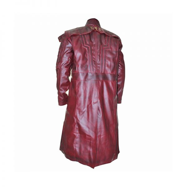 GOTG Star Lord long Coat Back