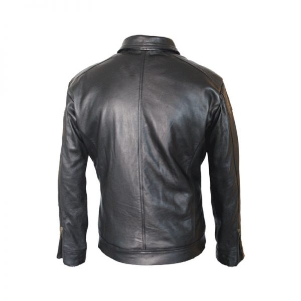 Need For Speed Aaron Paul Leather Jacket Back