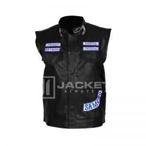 Son of Anarchy Leather Jacket front
