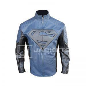 Superman Blue and Black Jacket