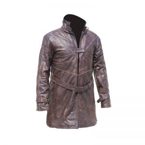 Watch Dog Leather Coat