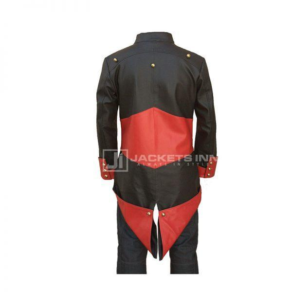 assassin's creed Red and Black Jacket Coat