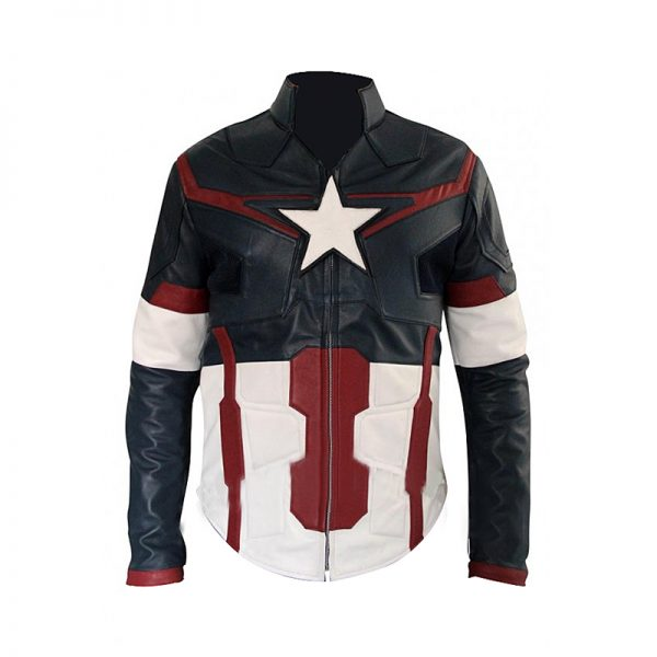 Chris Evans Avengers Age of Ultron Captain America Jacket