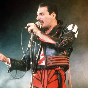 49 Freddie Mercury Red and Black Jacket