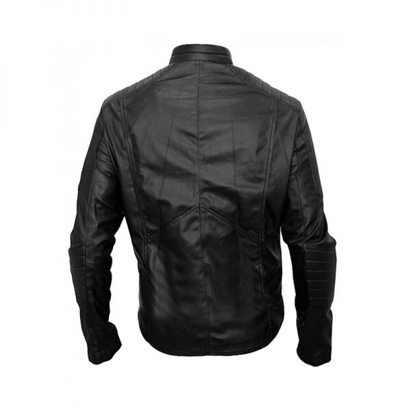 Christian Bale Batman Begins Jacket Back
