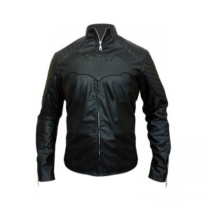 Christian Bale Batman Begins Leather Jacket