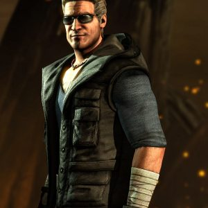 Johnny Cage Mortal Kombat Vest Jacket