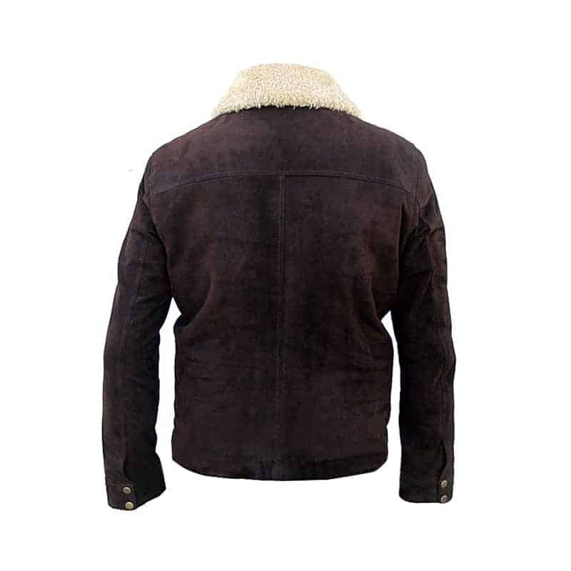 Rick Grimes The Walking Dead Season 5 Jacket back