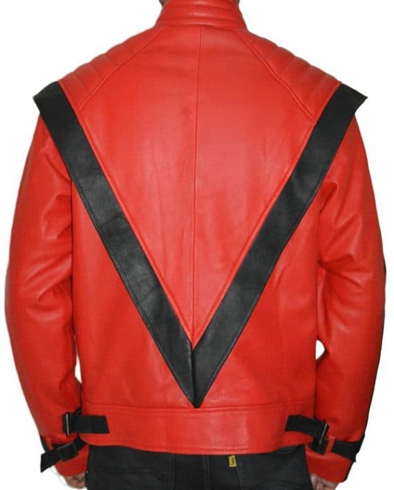 Stylish Michael Jackson Thriller Vintage Leather Jacket