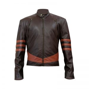 X-Men Wolverine Real Leather Jacket for men