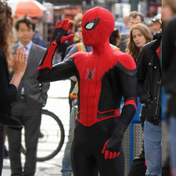 Spiderman Far From Home Leather Jacket side
