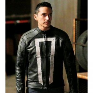 Agents of Shields Fashion Ghost Rider movie jacket