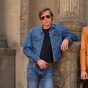 Once Upon a Time in Hollywood Brad Pitt Jeans Jacket