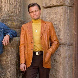 Leonardo Dicaprio Fashion Once Upon a Time in Hollywood movie jacket