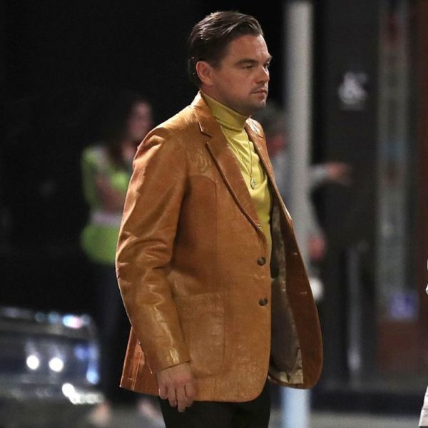 Leonardo Dicaprio: Once Upon a Time in Hollywood movie jacket