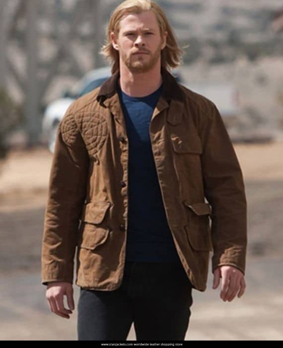Avengers Age of Ultron Chris Hemsworth Coat style,
