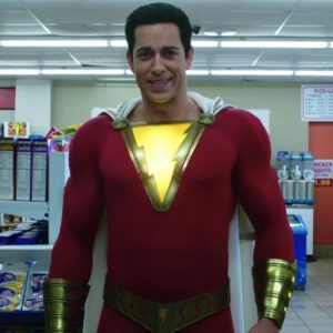 Zachary Levi Shazam Leather Jacket