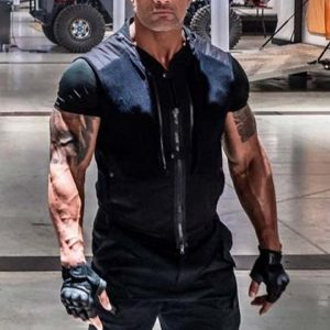 dwayne johnson movie jacket replica from Hobb and Shaw Fast and Furious