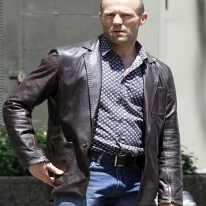 Jason Statham Fast And Furious 7 Black Wool Coat