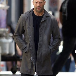 Jason Statham Fashion Fate of the Furious movie Coat
