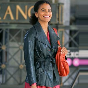 Joker (2019) Zazie Beetz Sophie Dumond Coat Jacket