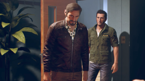 A WAY OUT VIDEO GAME JACKET
