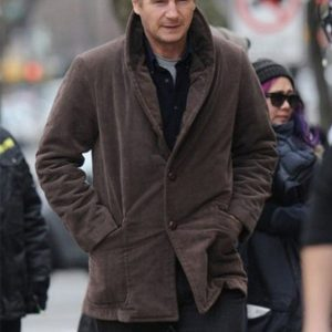 A Walk Among The Tombstones Liam Neeson Brown Coat