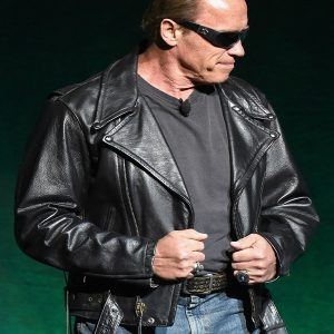 Action Packed Arnold Schwarzenegger Terminator Jacket