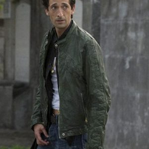 Adrien Brody Green Jacket