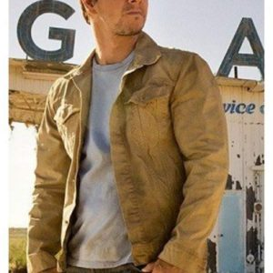 Age of Extinction Mark Wahlberg Brown Jacket
