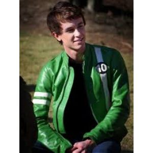Ben 10 Alien Swarm Leather Jacket