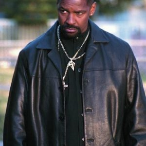 Alonzo Harris Denzel Washington Leather Coat