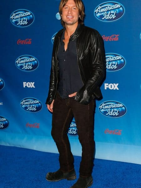 American Idol Keith Urban Leather Jacket