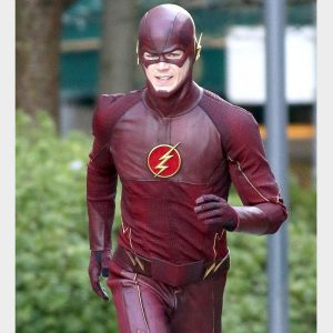 American Television Series Grant Gustin The Flash Jacket