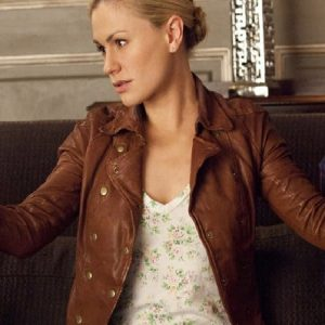 Anna Paquin Leather Jacket