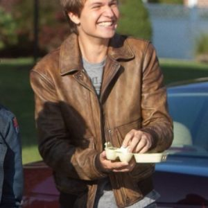 Ansel Elgort Jacket Replica - The Fault in Our Stars Movie Jacket Online