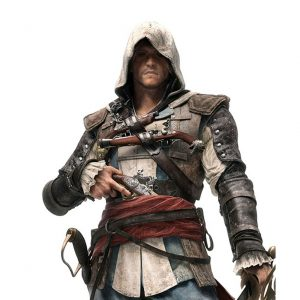 ASSASSINS CREED 4 MACHO LEATHER JACKET