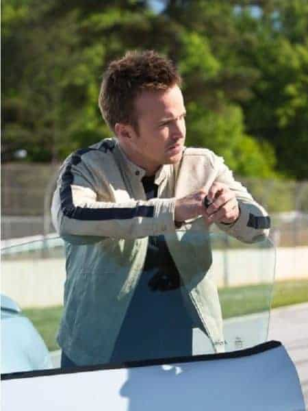 Awesome Aaron Paul Need For Speed White Jacket