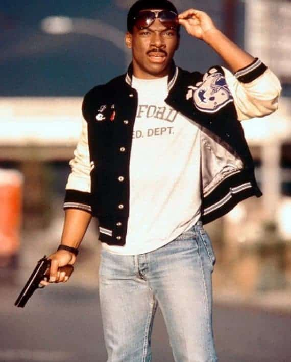 Axel Foley Stylish Detroit Lions Jacket