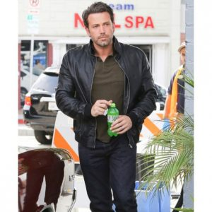 Ben Affleck Leather Jacket at California