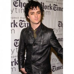Billie Joe Black Armstrong Leather Jacket