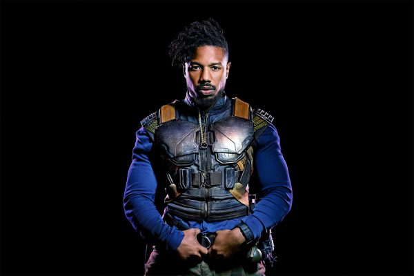 Black Panther Erik Killmonger (Michael B Jordan) Vest