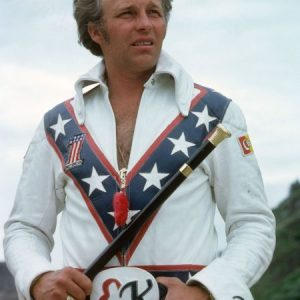 Blue American Icon Daredevil Evel Knievel Jacket