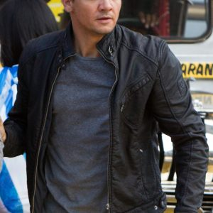 Bourne Legacy Aaron Cross Leather Jacket