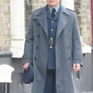 Allied Movie Brad Pitt Trench Coat