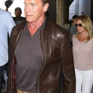 Arnold Schwarzenegger Jacket in California Place
